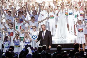 Церемония жеребьевки FIFA. Константиновский дворец.