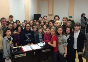Uriah Heep. Ken Hensley. Репетиция к концерту.